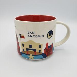Starbucks san antonio you are here collection mug
